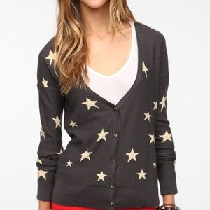 Urban Outfitters Star Cardigan